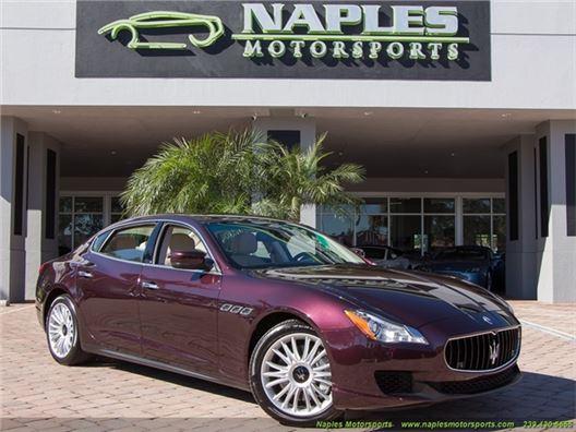 2014 Maserati Quattroporte S Q4 for sale in Naples, Florida 34104