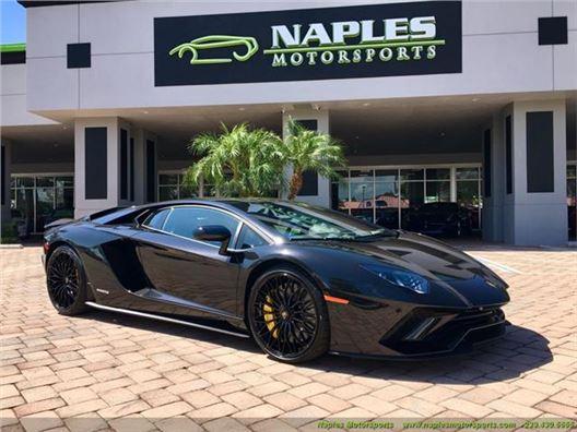 2018 Lamborghini Aventador LP 740-4 S for sale in Naples, Florida 34104