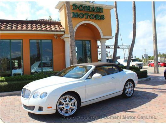 2010 Bentley Continental GT for sale in Deerfield Beach, Florida 33441