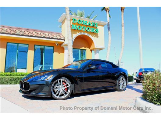 2014 Maserati GranTurismo Convertible for sale in Deerfield Beach, Florida 33441