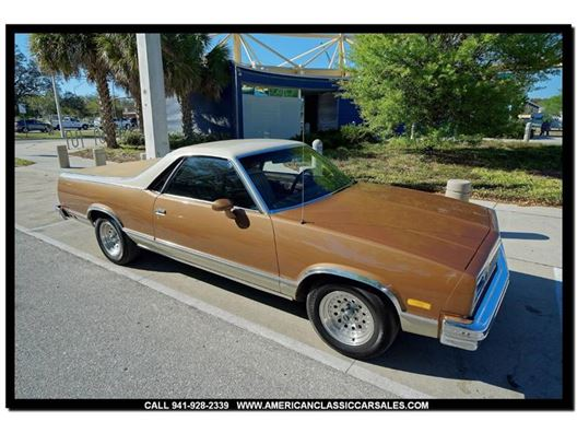1982 Chevrolet El Camino for sale in Sarasota, Florida 34232