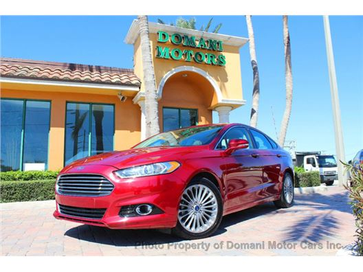 2016 Ford Fusion for sale in Deerfield Beach, Florida 33441