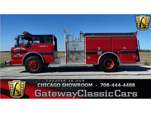 1989 Ford Fire Truck for sale in Crete, Illinois 60417