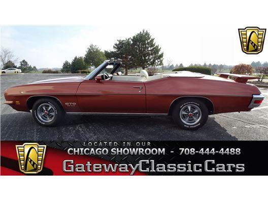 1971 Pontiac GTO for sale in Crete, Illinois 60417