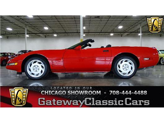 1992 Chevrolet Corvette for sale in Crete, Illinois 60417