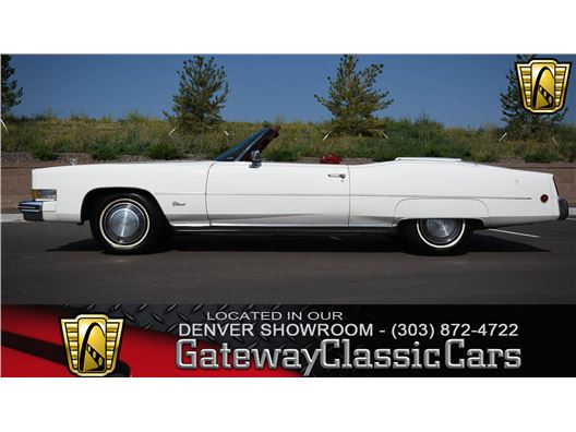 1973 Cadillac Eldorado for sale in Englewood, Colorado 80112