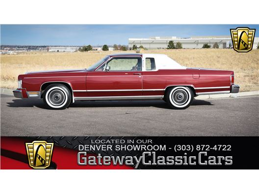 1978 Lincoln Town Coupe for sale in Englewood, Colorado 80112