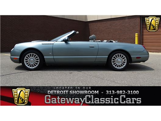 2004 Ford Thunderbird for sale in Dearborn, Michigan 48120