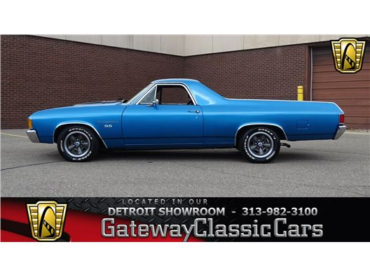 1972 Chevrolet El Camino for sale in Dearborn, Michigan 48120