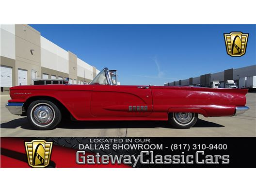 1958 Ford Thunderbird for sale in DFW Airport, Texas 76051