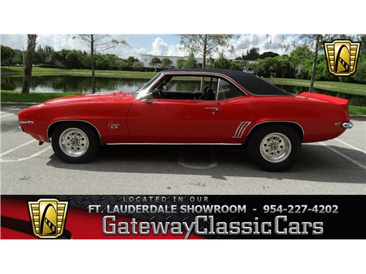 1969 Chevrolet Camaro for sale in Coral Springs, Florida 33065