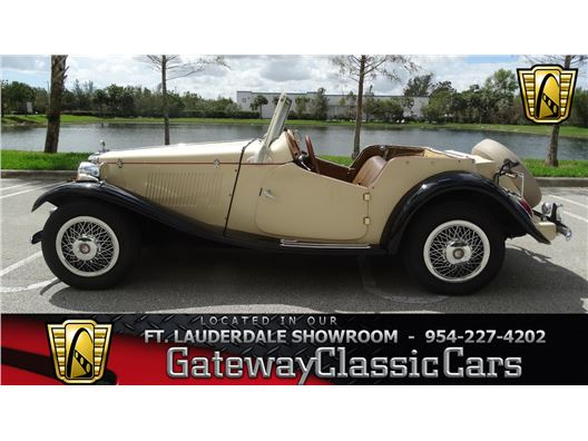 1952 MG TD for sale in Coral Springs, Florida 33065