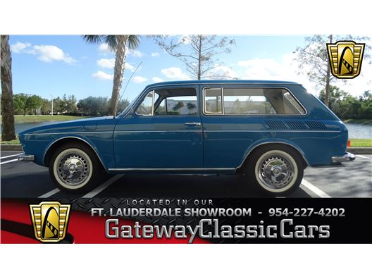 1972 Volkswagen Variant for sale in Coral Springs, Florida 33065