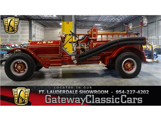 1914 American LaFrance Fire Truck for sale in Coral Springs, Florida 33065