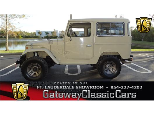 1969 Toyota FJ40 for sale in Coral Springs, Florida 33065