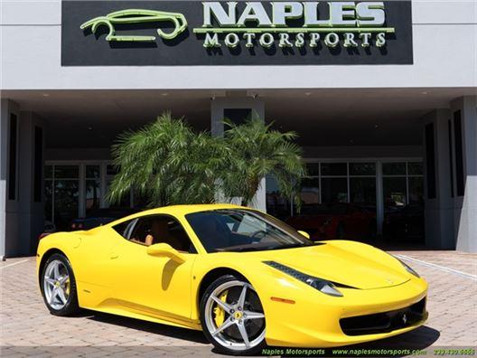 2010 Ferrari 458 for sale in Naples, Florida 34104