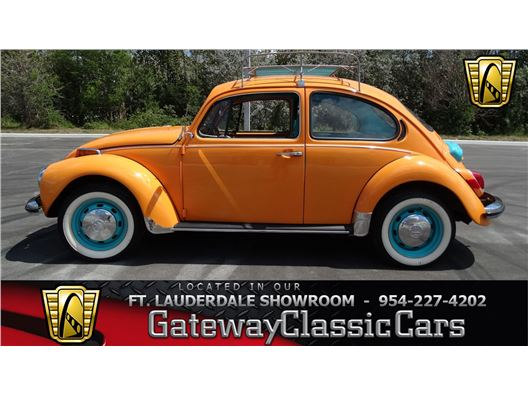 1971 Volkswagen Beetle for sale in Coral Springs, Florida 33065