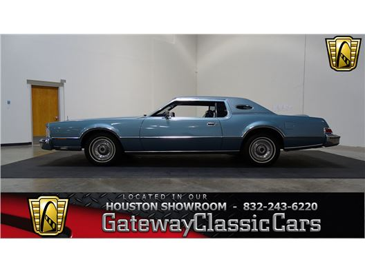 1975 Lincoln Continental for sale in Houston, Texas 77090