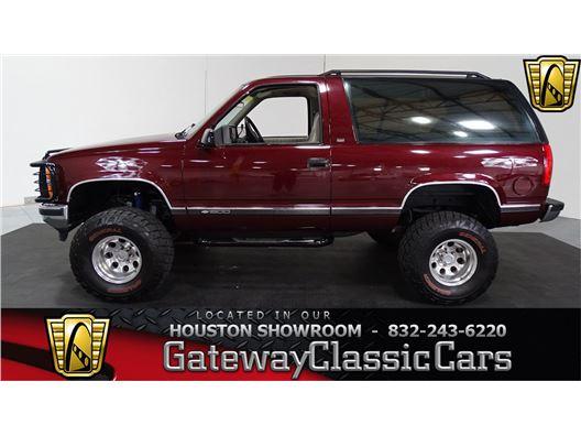 1992 Chevrolet Blazer for sale in Houston, Texas 77090