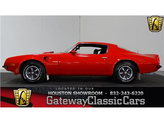 1974 Pontiac Trans Am for sale in Houston, Texas 77090