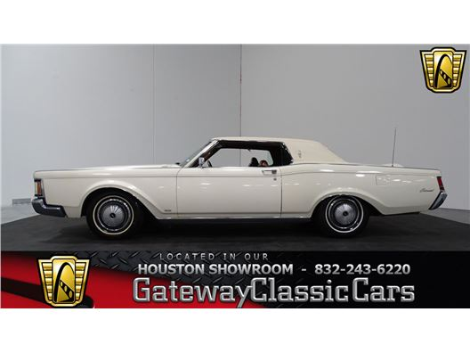 1970 Lincoln Continental for sale in Houston, Texas 77090