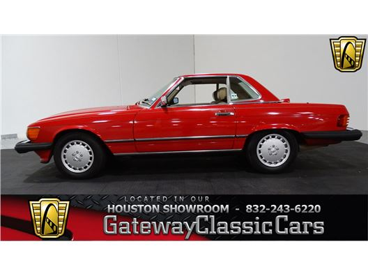 1986 Mercedes-Benz 560SL for sale in Houston, Texas 77090