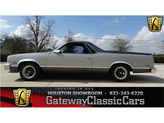1987 Chevrolet El Camino for sale in Houston, Texas 77090