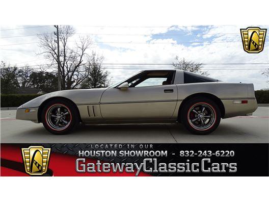 1987 Chevrolet Corvette for sale in Houston, Texas 77090