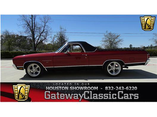1970 Chevrolet El Camino for sale in Houston, Texas 77090