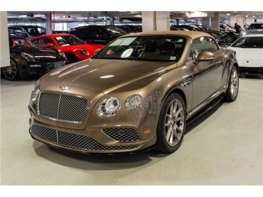 2016 Bentley Continental for sale in New York, New York 10019