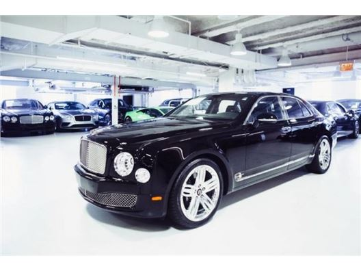 2012 Bentley Mulsanne for sale in New York, New York 10019