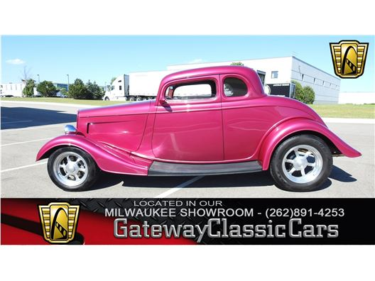 1934 Ford Coupe for sale in Kenosha, Wisconsin 53144