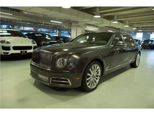 2017 Bentley Mulsanne for sale in New York, New York 10019