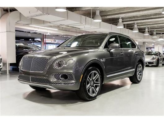2018 Bentley Bentayga for sale in New York, New York 10019
