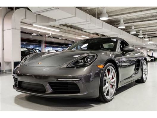2017 Porsche 718 Boxster for sale in New York, New York 10019