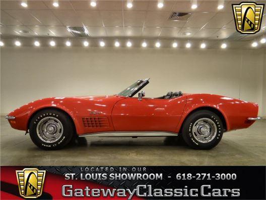1971 Chevrolet Corvette for sale in O'Fallon, Illinois 62269