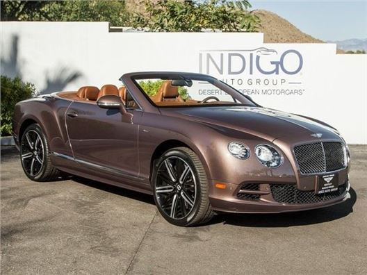 2015 Bentley Continental GT for sale in Rancho Mirage, California 92270