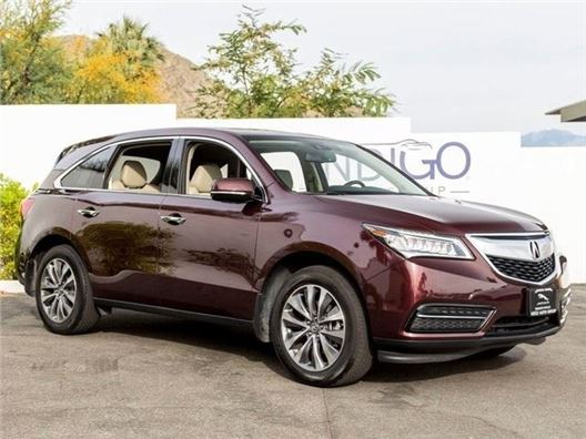 2014 Acura MDX for sale in Rancho Mirage, California 92270