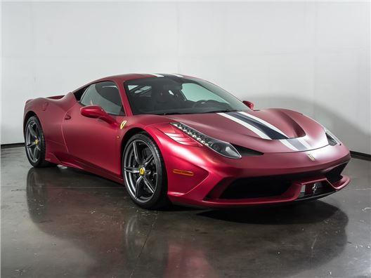 2015 Ferrari 458 Speciale for sale in Plano, Texas 75093