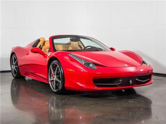 2014 Ferrari 458 Spider for sale in Plano, Texas 75093