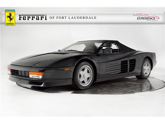 1986 Ferrari Testarossa Convertible for sale in Fort Lauderdale, Florida 33308
