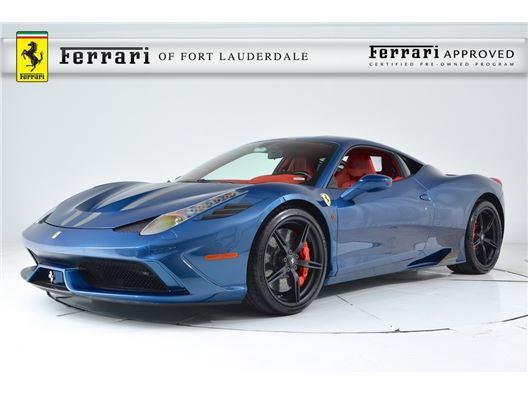 2015 Ferrari 458 Italia Speciale for sale in Fort Lauderdale, Florida 33308