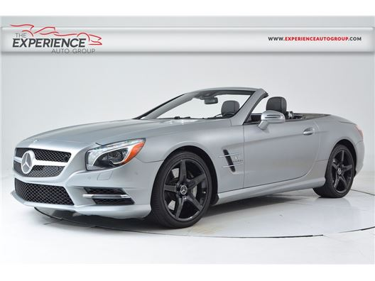 2014 Mercedes-Benz SL550 for sale in Fort Lauderdale, Florida 33308