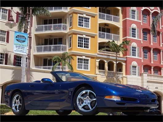 2004 Chevrolet Corvette Commemorative Edition for sale in Naples, Florida 34104