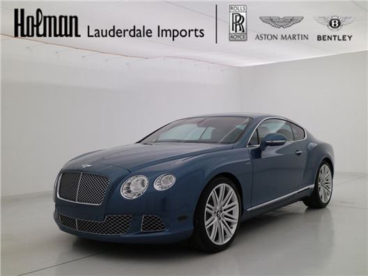 2013 Bentley Continental GT Speed for sale in Fort Lauderdale, Florida 33304