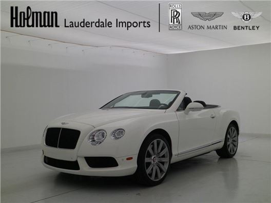 2013 Bentley Continental GTC for sale in Fort Lauderdale, Florida 33304