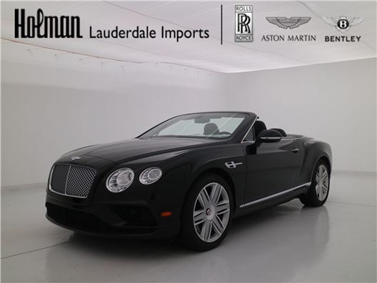 2016 Bentley Continental GTC for sale in Fort Lauderdale, Florida 33304