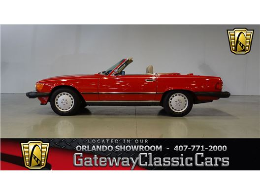1987 Mercedes-Benz 560 SL for sale in Lake Mary, Florida 32746