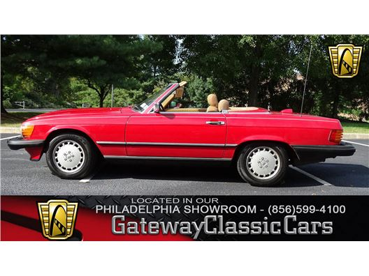 1987 Mercedes-Benz 560SL for sale in West Deptford, New Jersey 8066