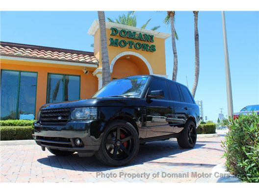 2010 Land Rover Range Rover for sale in Deerfield Beach, Florida 33441